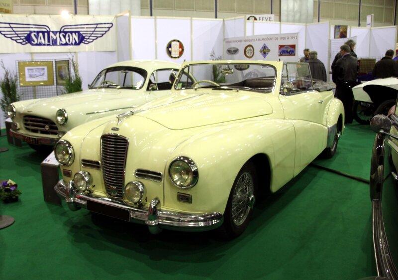 Salmson G72 cabriolet de 1951 (23ème Salon Champenois du véhicule de collection) 01