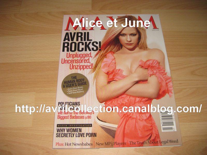 Maxim Magazine (mars 2008)