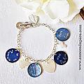 Bracelet Marraine en or personnalisé