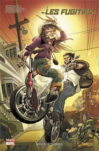 100% marvel fugitifs 02 rock zombies