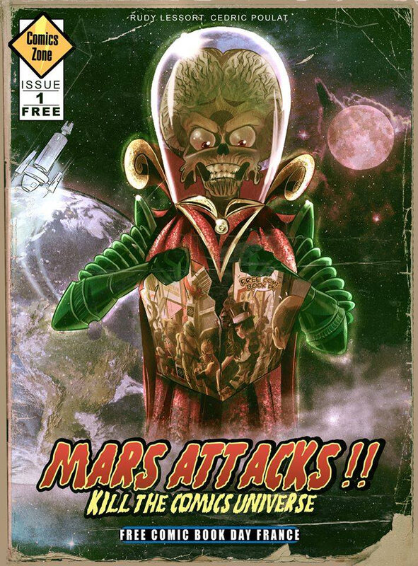 fcbd 19 comics zone mars attacks