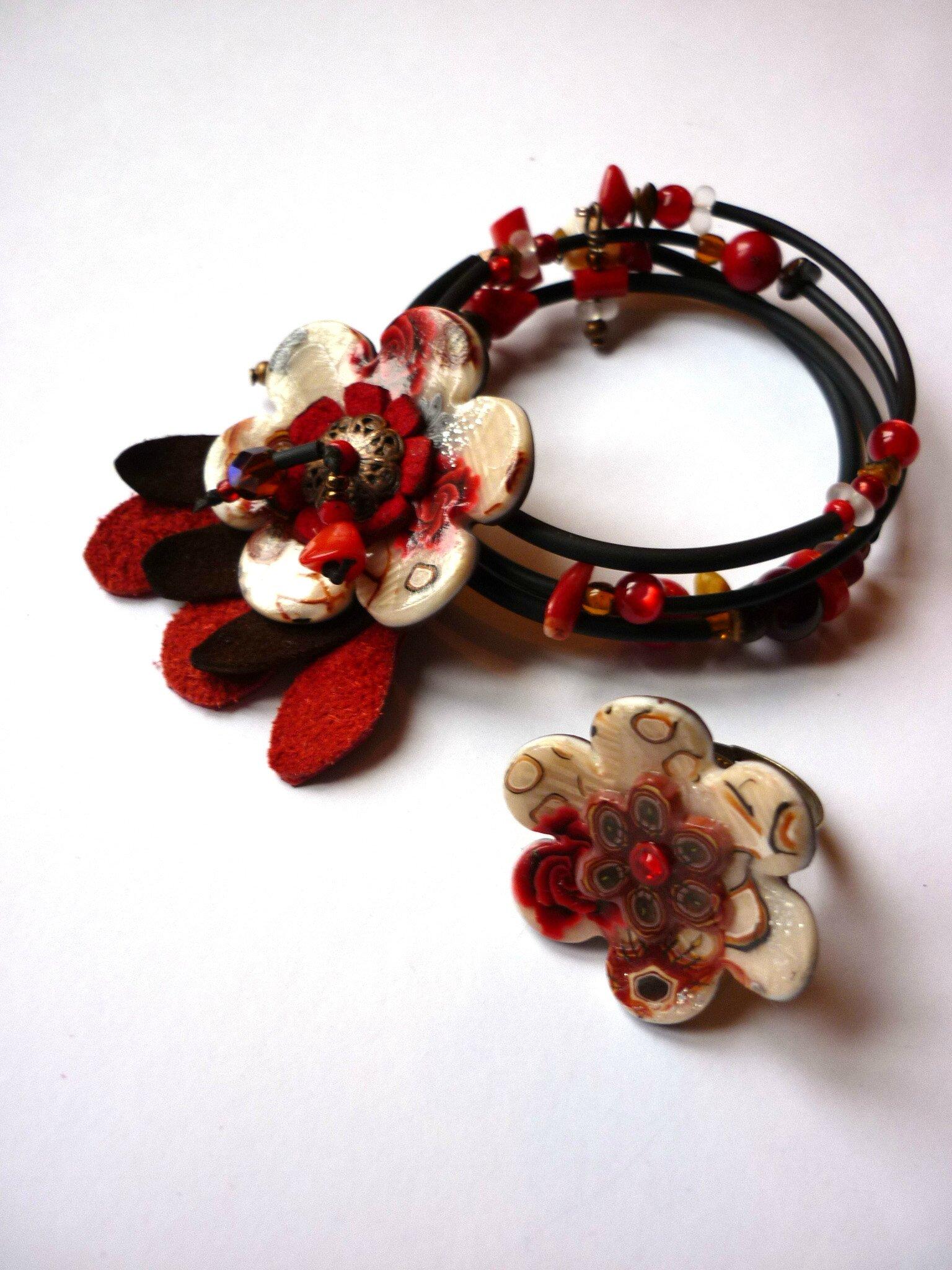 bracelet bague pour Jacqueline