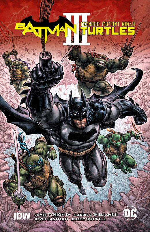 batman tortues ninja vol 03 HC