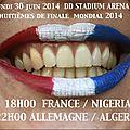 France ~ nigéria