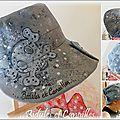 casquette peinte