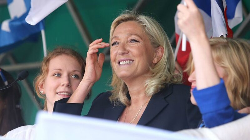 Marine Le Pen Brachay aout 2014 Le Figaro