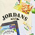 Merci aux « céréales jordans « ❤️ a la découverte du muesli bio et des « country crisp « miam !