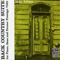 Mose Allison - 1957 - Back Country Suite (Prestige)