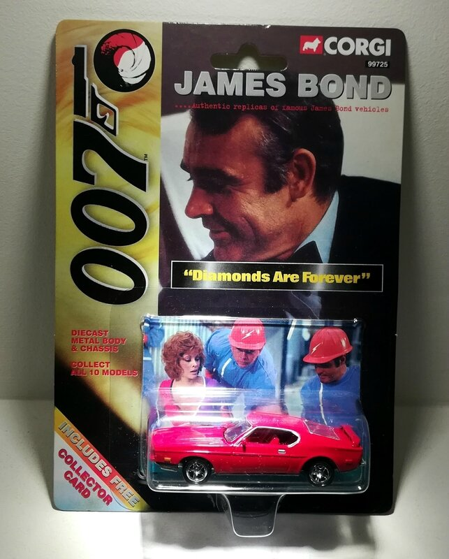 Ford Mustang Mach I (Collection James Bond) Corgi