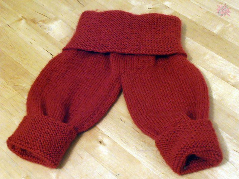 Tricot : Ze tiny Pants - modèle gratuit de pantalon o-6 mois + Traduction Française