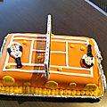 gâteau anniv léo 9 ans