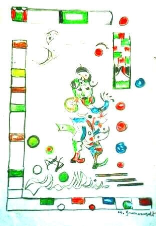GRUNENWALDT crayons de couleurs 29,7 x 20,8