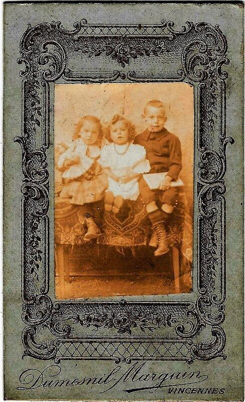 inc 3 enfants famille inconnue