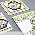 4enscrap ... koala trop chou & bambou