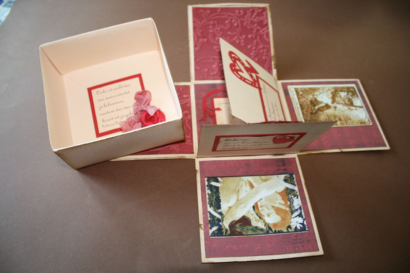 Caja sorpresa para enamorados