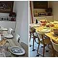 Ma cuisine et mes tables