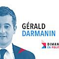 Dimanche en politique sur france 3 n°96 : gerald darmanin