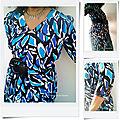 Ma robe bleue BURDA