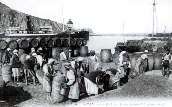 Oran- 003- travail sur les quais