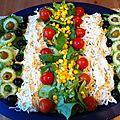 Idée déco pour vos salades en famille!