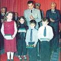 Prince Moulay Rachid helping the unprivileged children in his program Golf for All