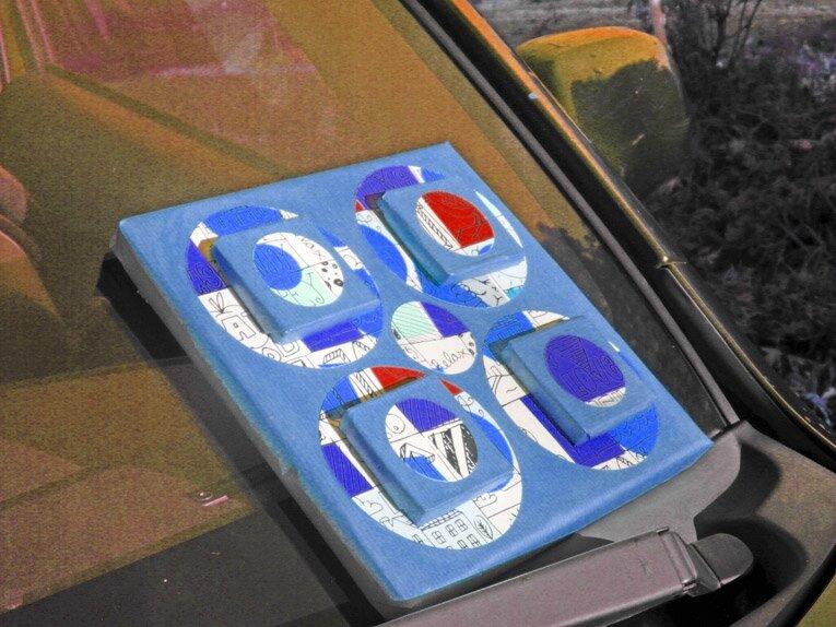 abstrait couleur voiture