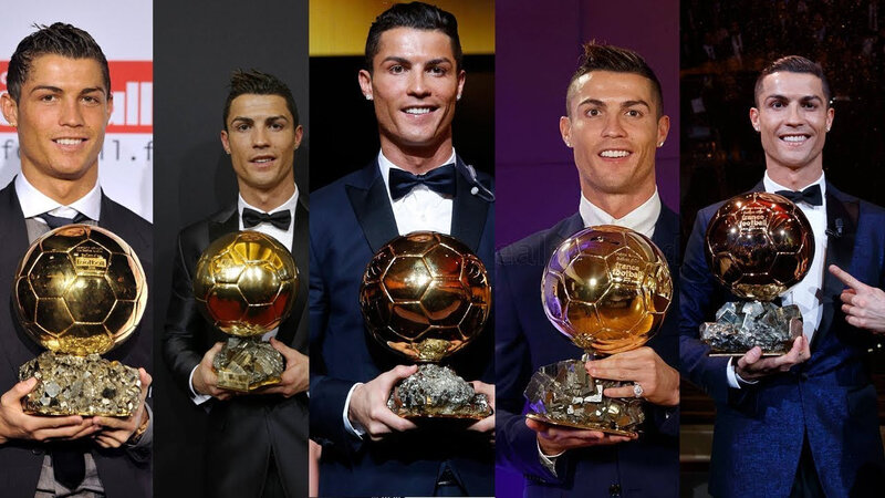 BALLON D'OR RONALDO CHRI