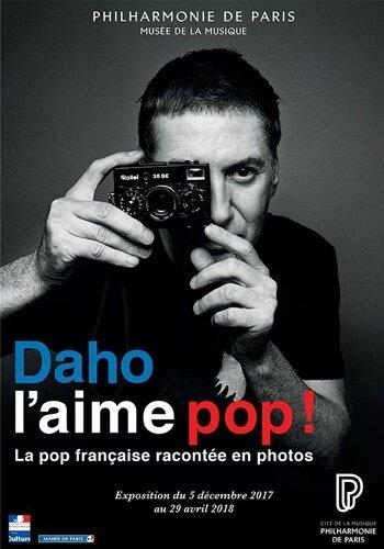 Affiche Daho l'aime pop !