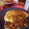 Pancakes à la ricotta (Rose Bakery)
