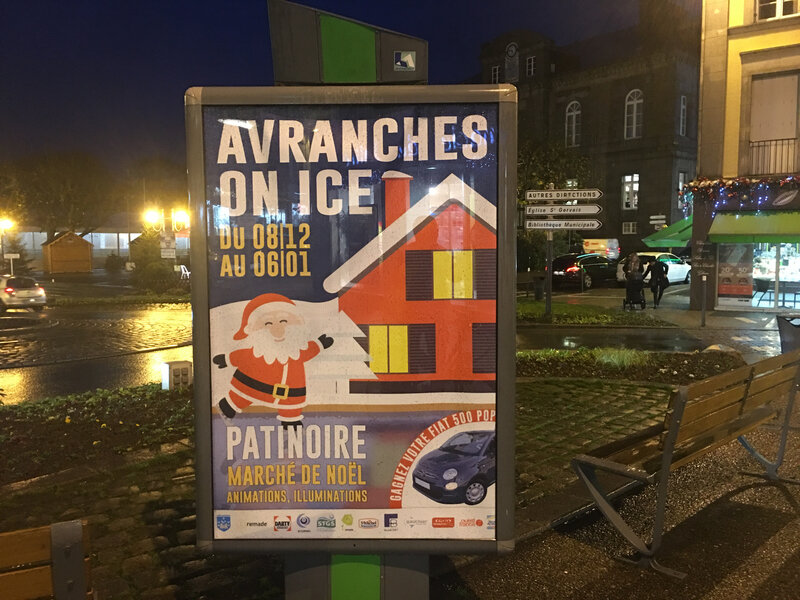 Avranches_animations_Noel_2018_affiche_place Littré