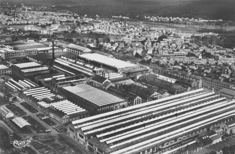 CPSM Belfort Alsthom 1955-56