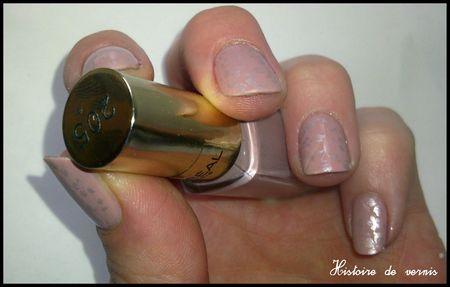 rose parme stamping 2