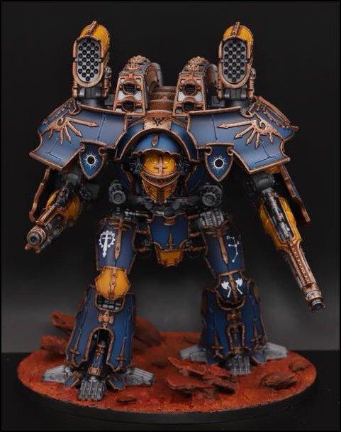 Titan Warlord par Nikolas Berg