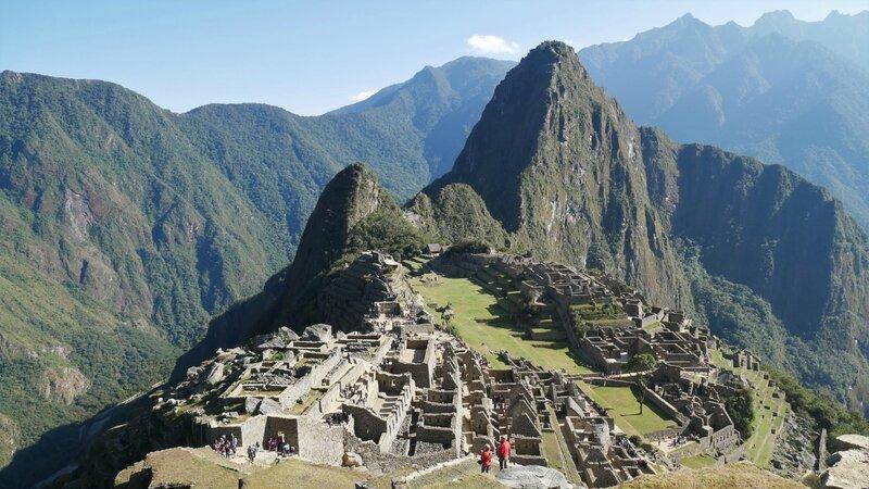 Machu Picchu et Huayna Pichu