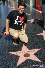 Hollywood Bd - Mickey Mouse star