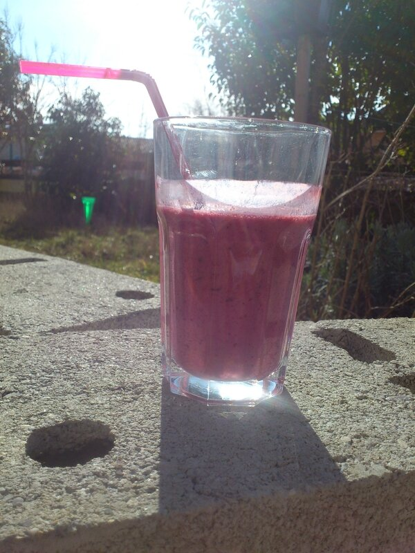 smoothie rouge