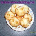 Congolais ou gateau a coco