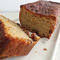 Cake banane rhum raisins