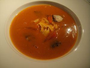 Facil Soupe de tomate poulpe J&W