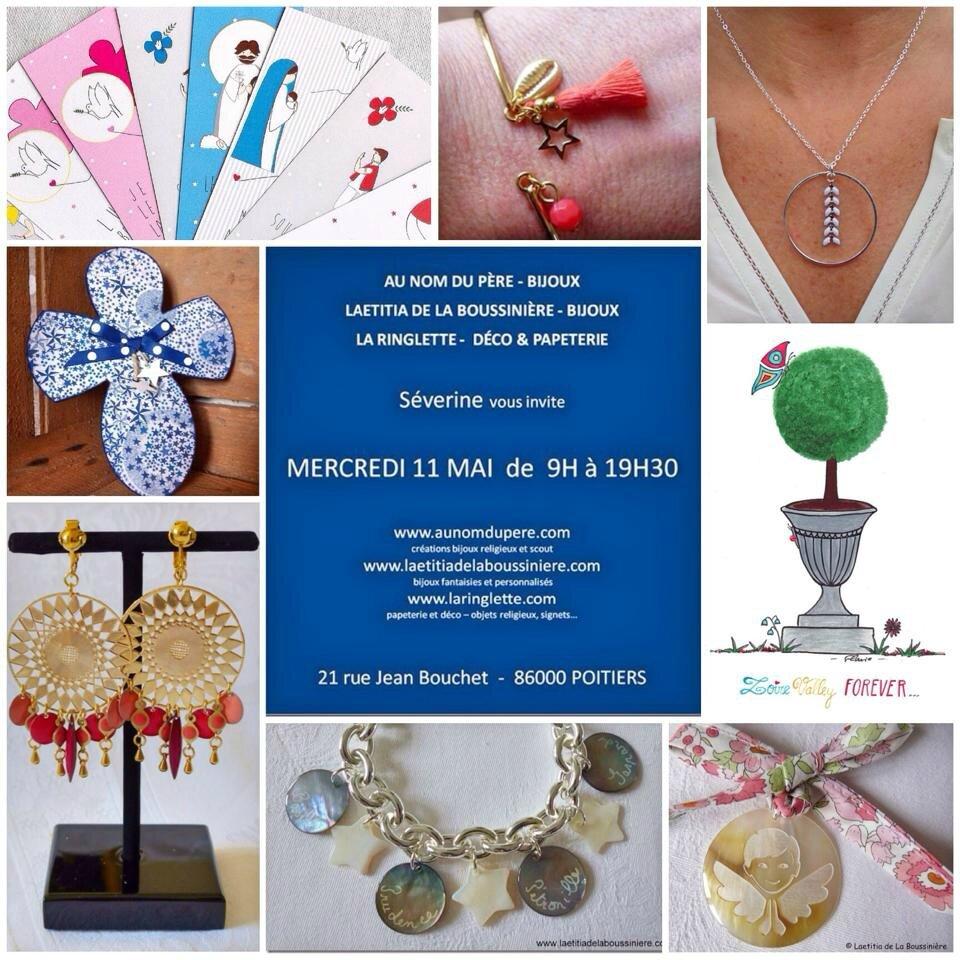 Invitation pour la vente à Poitiers