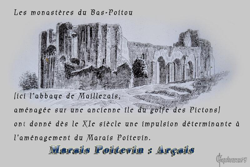 L' histoire du Marais-Poitevin, les premiers dessèchement du Bas Poitou