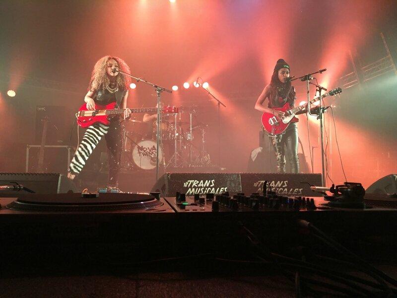 Nova Twins Rencontres Trans Musicales Rennes 2016 concert gig