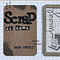 claire-scrap at home