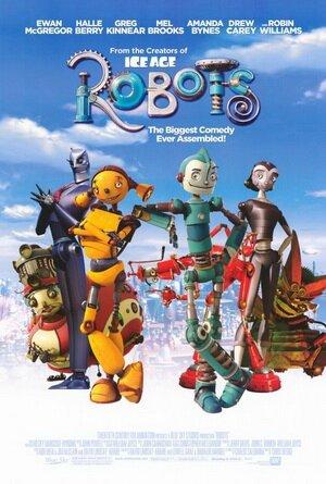 Affiche Film Robots