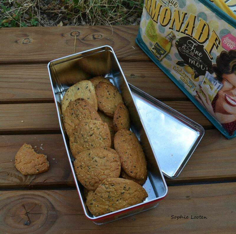 Cookies sésame2