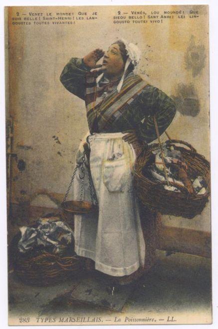 Type marseillais-La poissonnière