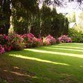 Beau jardin en Normandie