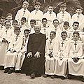 7 mai 1959 Maitrise Métropolitaine Aix en Provence Communion solennelle