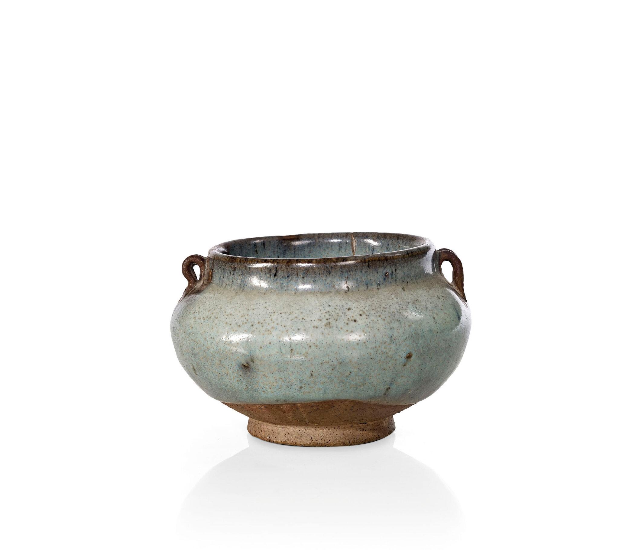 A small junyao globular jar, Jin-Yuan dynasty, 12th-14th century