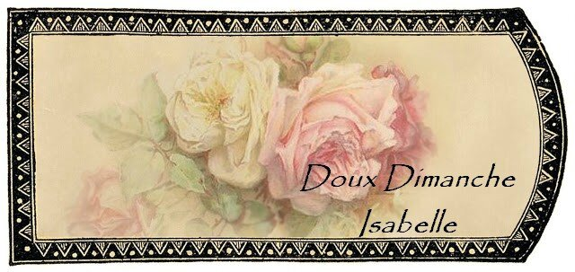 Vanilla label with roses tag